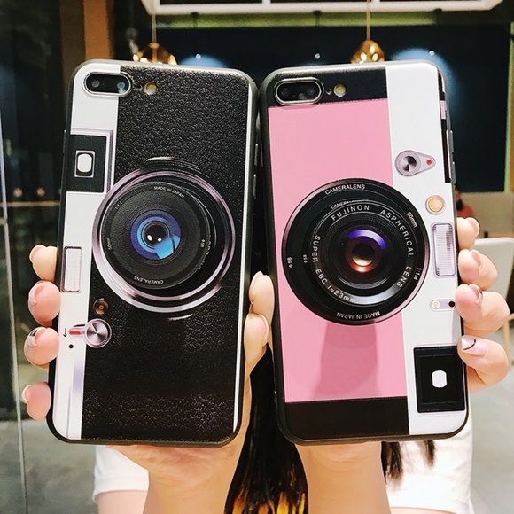 newest e2e50 95348 Iphone 7/8 camera case with pop socket